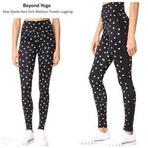 Kate Spade x Beyond Yoga Tuxedo Leggings